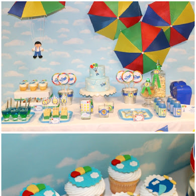 Airplanes and Parachutes Birthday Party