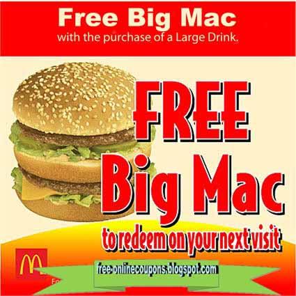 big mac coupons 2019