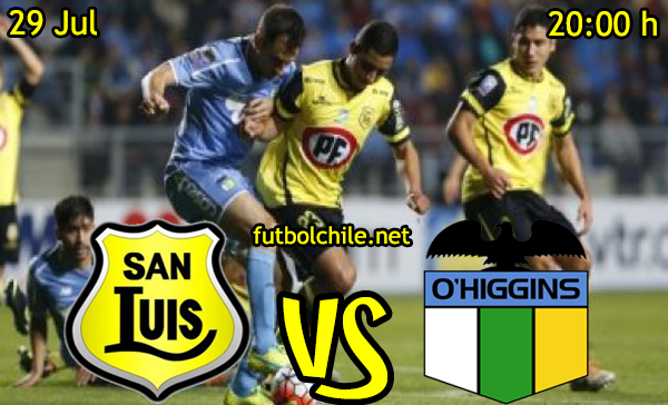 VER STREAM YOUTUBE MOVIL ANDROID IOS IPHONE, RESULTADO EN VIVO, ONLINE: San Luis vs O'Higgins