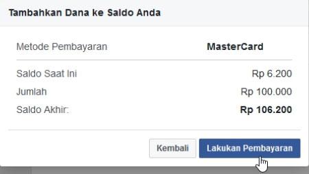 Detail Tambah Dana