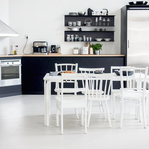 keuken-zwart