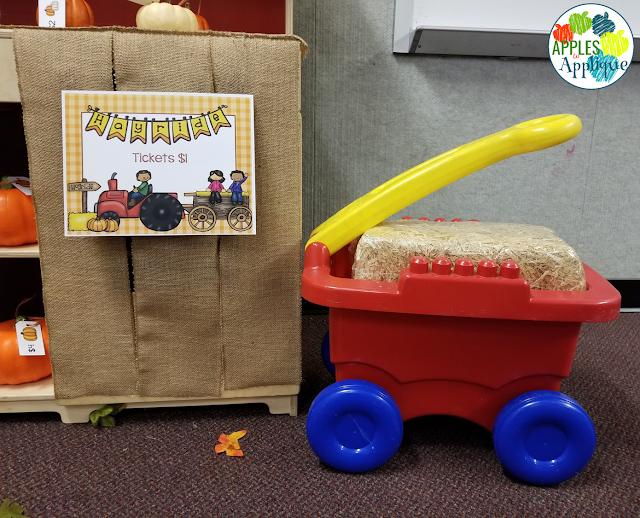 Pumpkin Patch Dramatic Play Printables | Apples to Applique