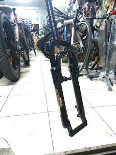 Fork Sepeda Murah Mtb 26 bisa V-Brake dan Disk Brake