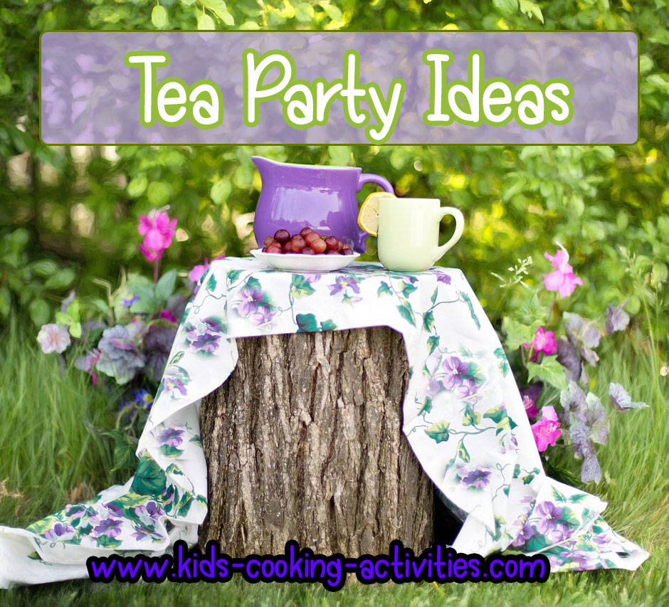 Mother S Day Tea Party Theme Ideas