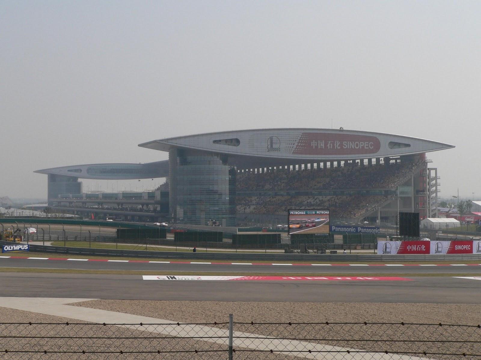 Templos del deporte (4)   Circuito Internacional de Shanghai (China) 7446bbeb0267a