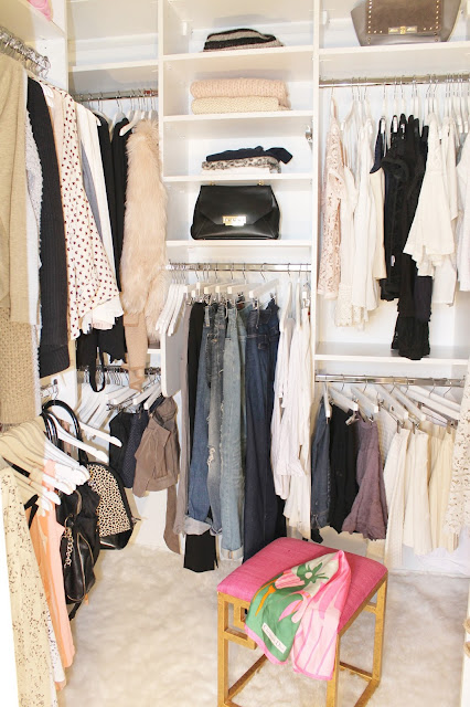 JWS Interiors My Master Bedroom Closet Reveal With California