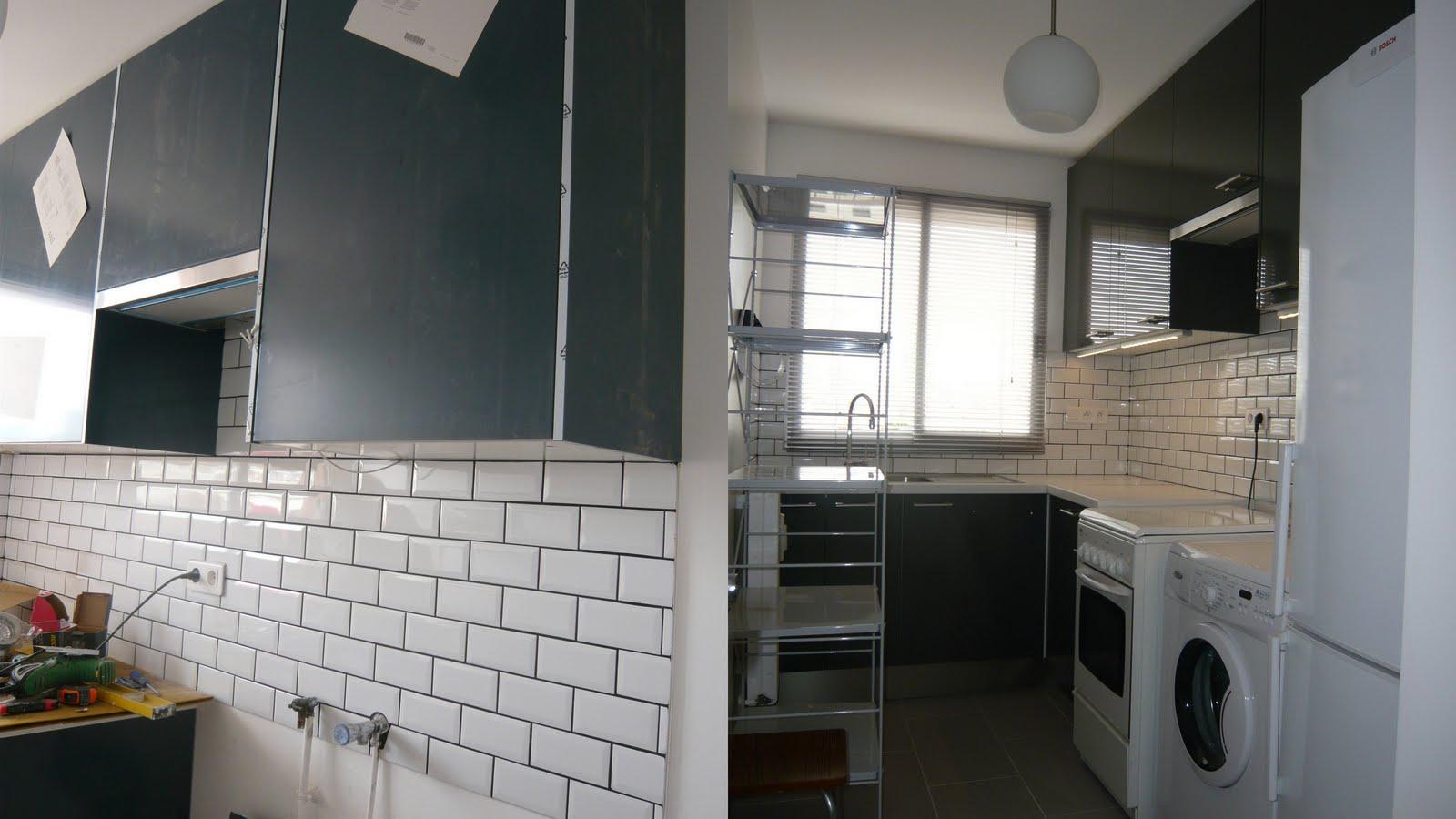 carrelage mur cuisine. Black Bedroom Furniture Sets. Home Design Ideas