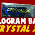 Hologram Baru Kemasan Crystal X Asli NASA