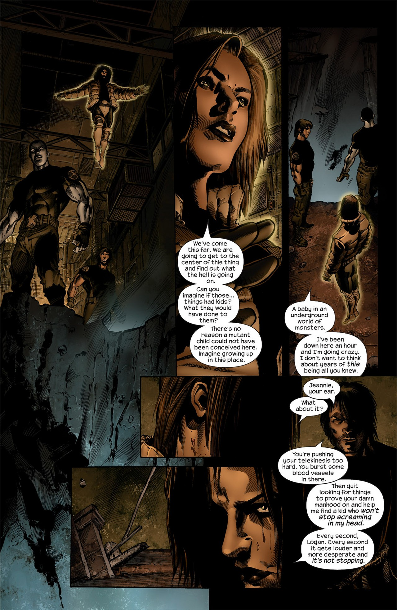 Read online Ultimate Nightmare comic -  Issue #4 - 14