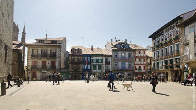 Que ver en Hondarribia Fuenterrabia Plaza de Armas