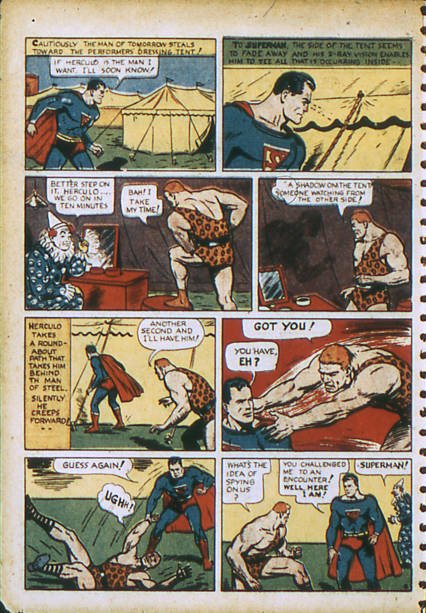 Read online Action Comics (1938) comic -  Issue #28 - 9
