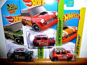 Mini Cooper Hotwheels