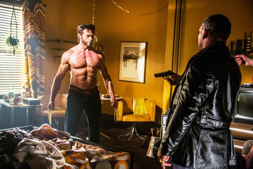 Hugh Jackman as Wolverine aka Logan, X-Men: Days of Future Past, Directed by Bryan Singer