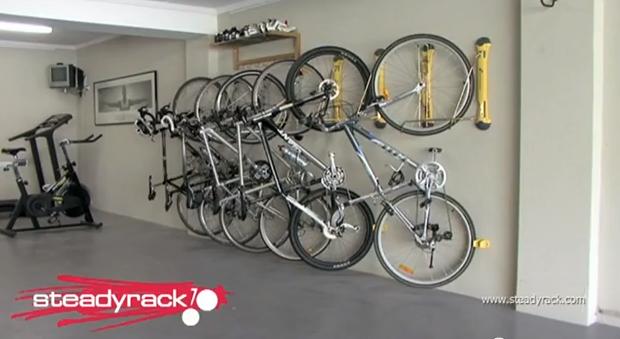 garage organization ideas for bikes - The Phoenix Agents taming the garage ideas for storage