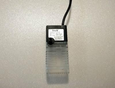 アタッチメントを接続したテトラマイクロフィルター