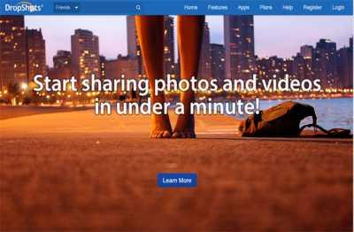 situs berbagi foto dropshot