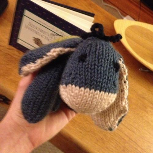 Baby Eeyore - Free knitting Pattern