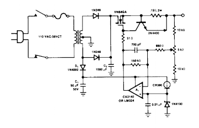 Heavy Duty Battery Charger Circuit Diagram