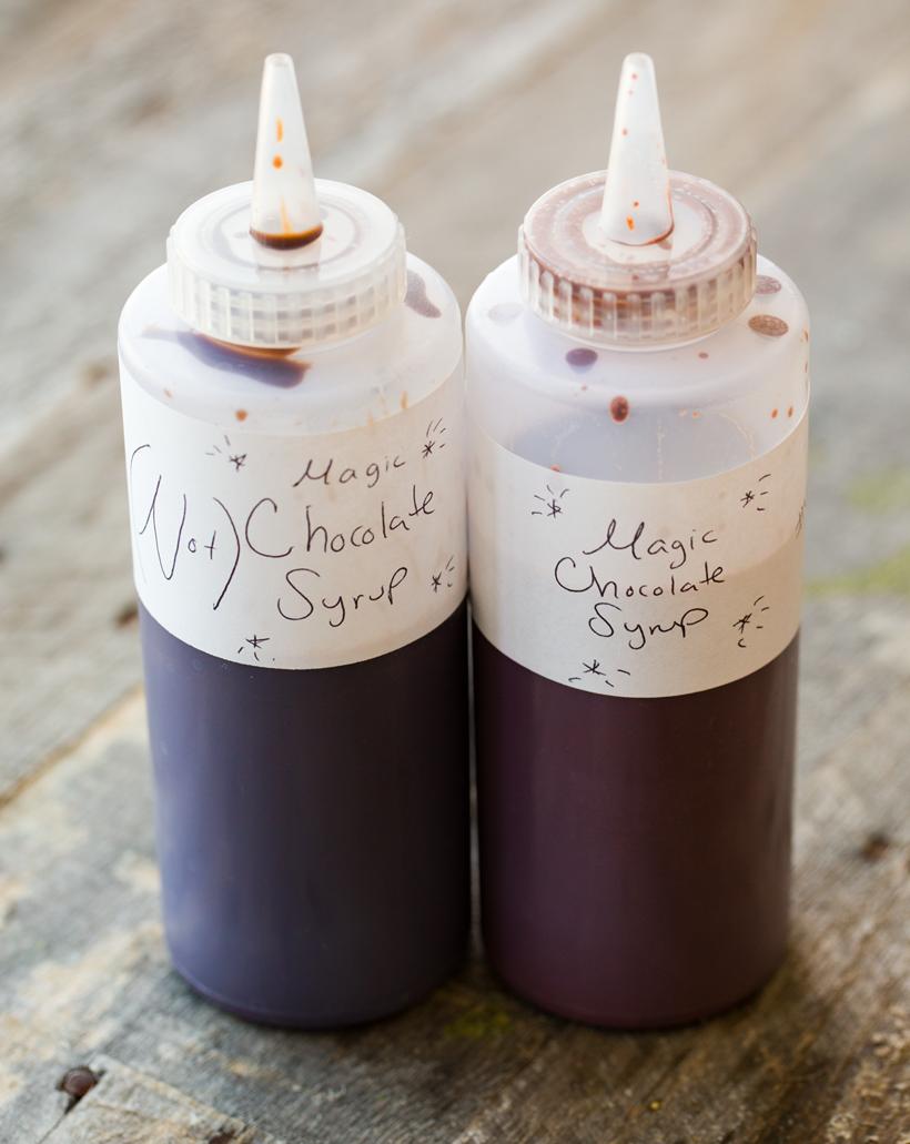Vegan Magic Chocolate Sauce (Two Ways!) with Vanilla Bean Nice Cream