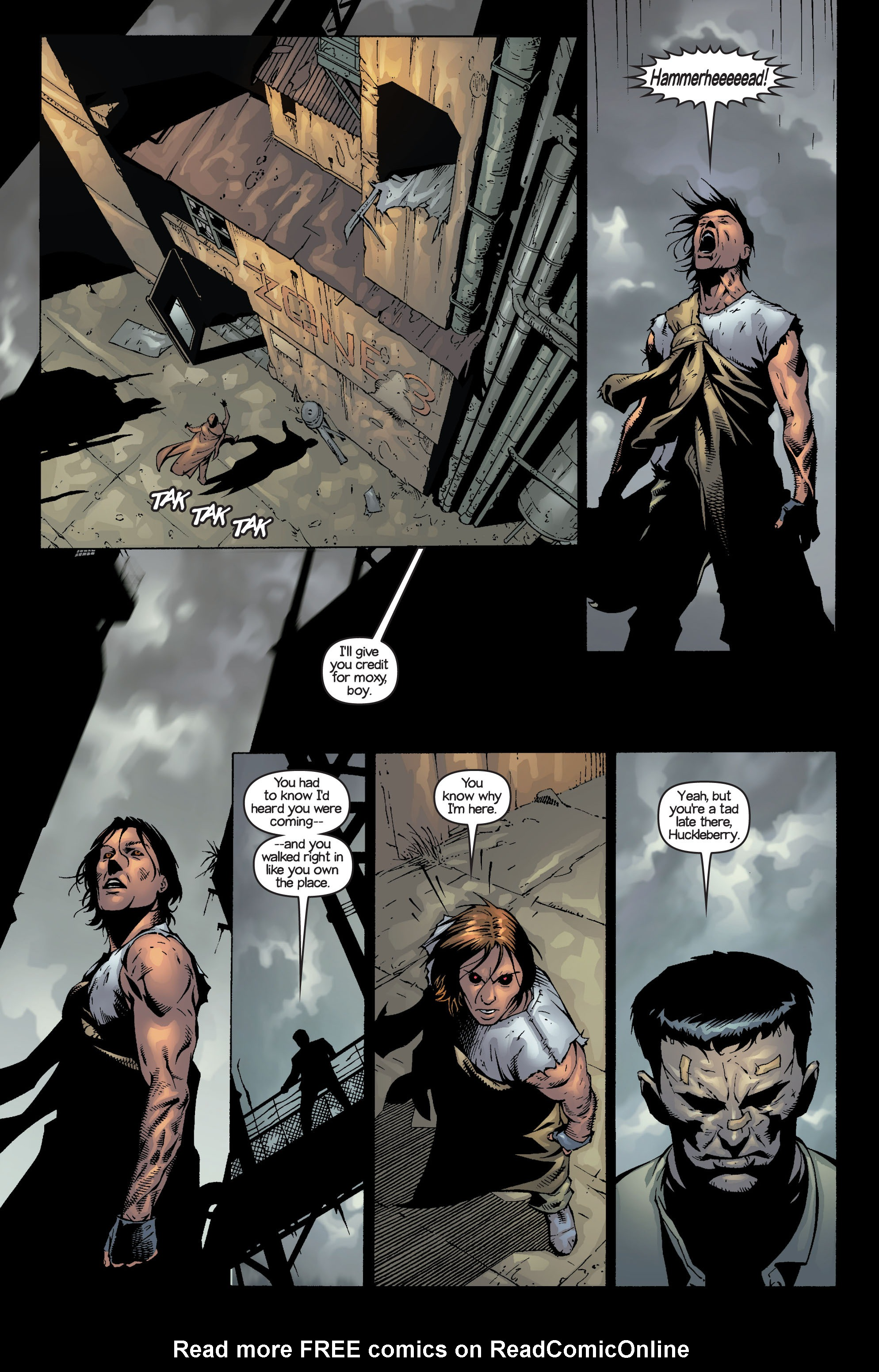 Read online Ultimate X-Men comic -  Issue #14 - 17