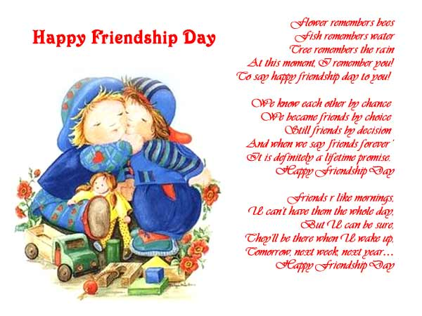 picture collection: cute friendship day cards