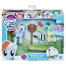 MLP Teamwork Lessons Rainbow Dash Brushable Pony