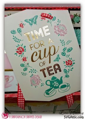 Craft Smith Tea Party 12x12 Paper Pad