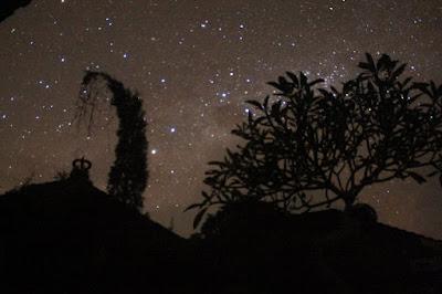 stargazing on nyepi