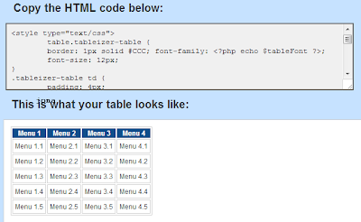 Muncul kode Script