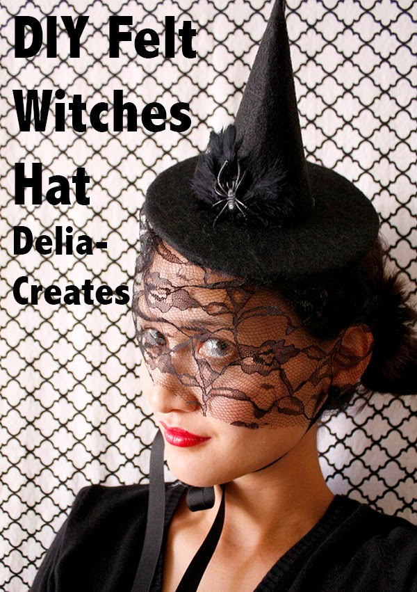 DIY Felt WItches Hat