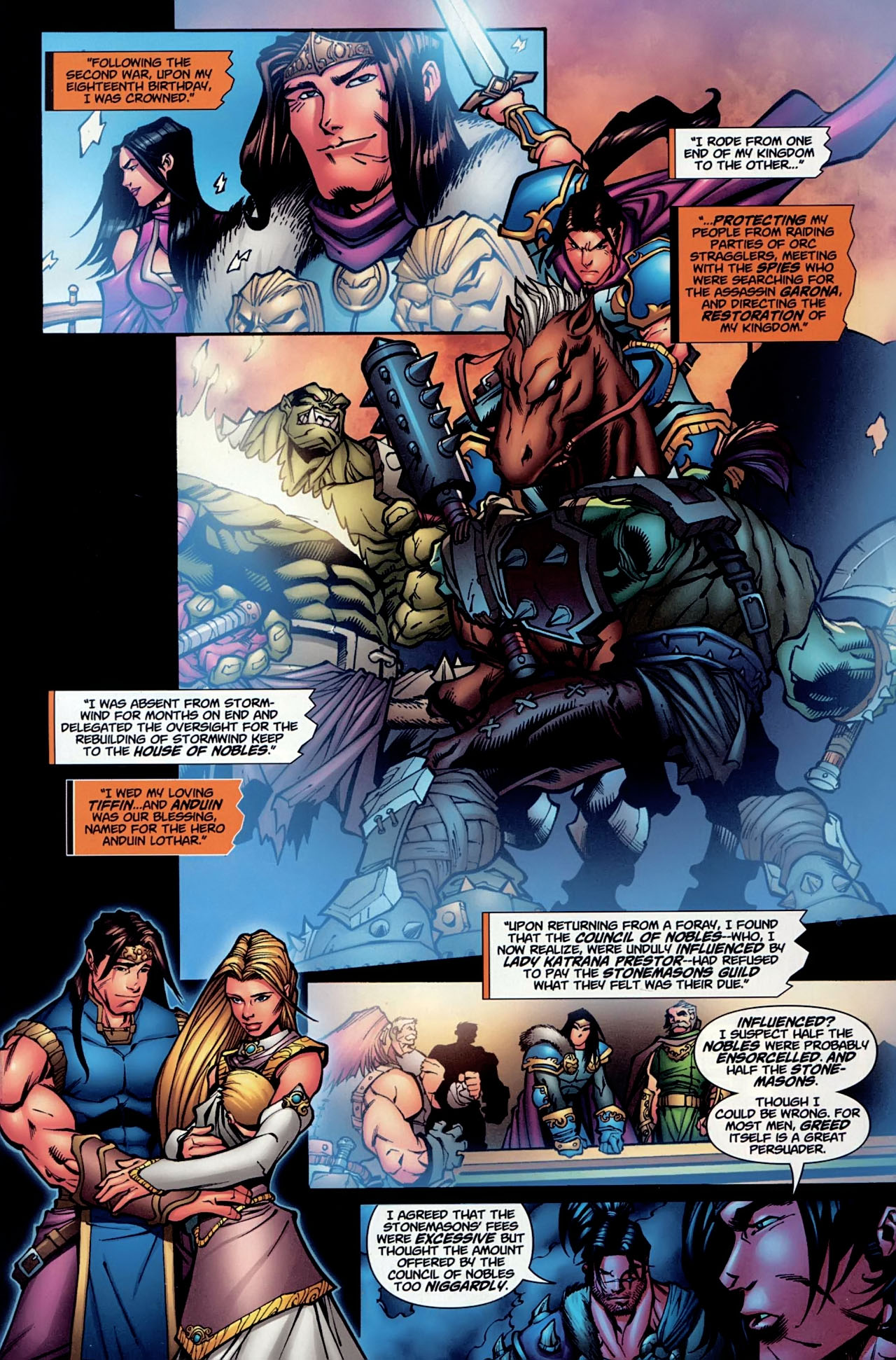 Read online World of Warcraft comic -  Issue #13 - 8