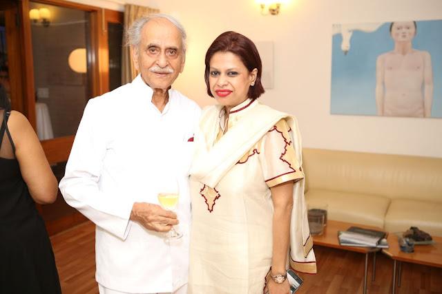 (L-R) Man Mohan Bhagat, Julie Deb