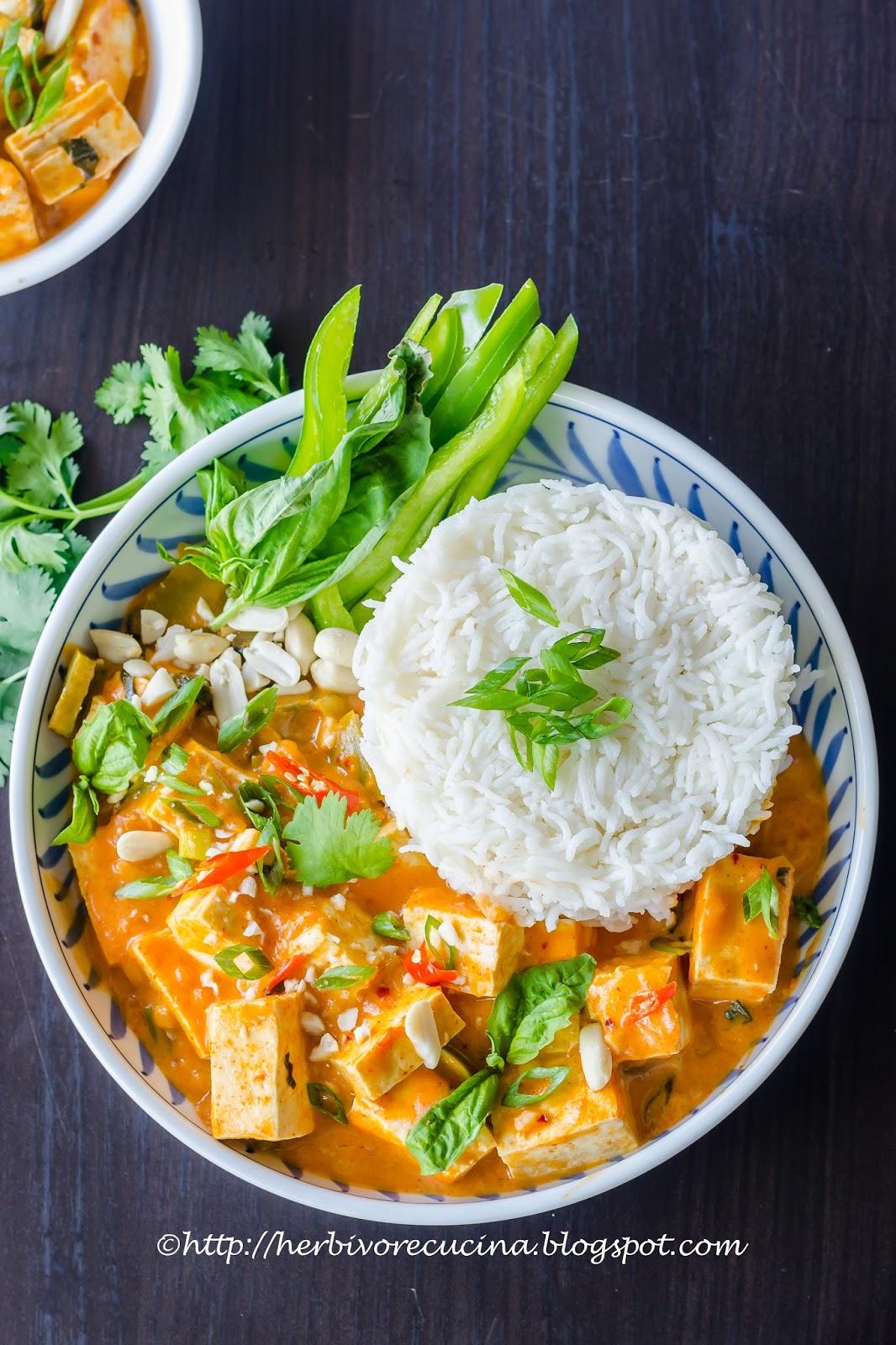Herbivore Cucina: Tofu Panang Curry