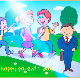 Fantastic Parents Day Stock Images
