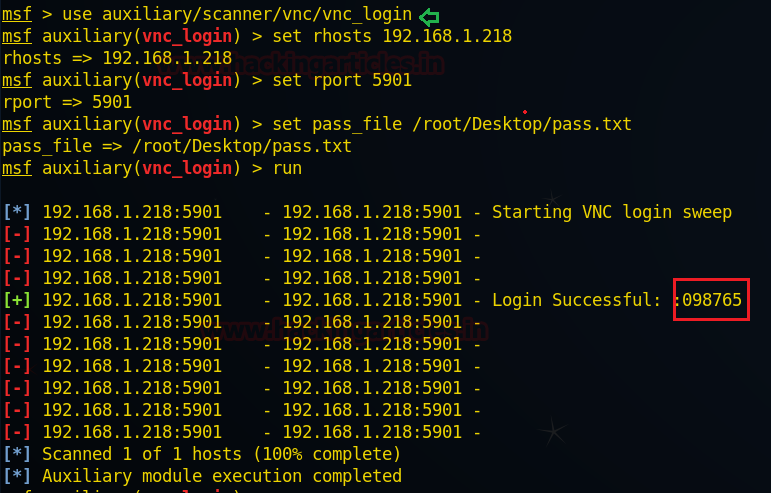 VNC Penetration Testing (Port 5901)