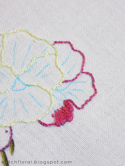 Needle Painting stitch along Part 2