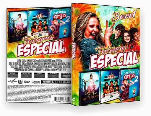 CAPA DVD – Triologia Especial 3 Em 1 Vol.1 – ISO