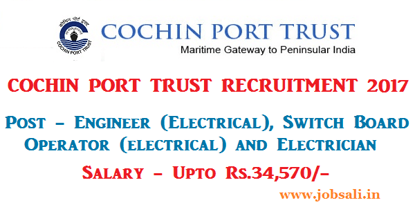 Junior Engineer jobs, Port Trust Job vacancy, Mechanical Engineering jobs