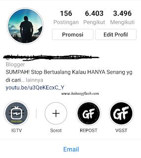 Cara mendapatkan follower atau pengikut instagram tanpa software atau aplikasi instafollow dijamin 100 % aman serta mendongkrak penjualan