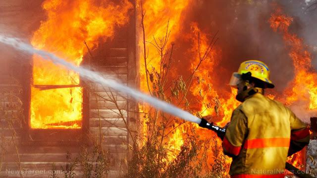 Жінка не пережила пожежі на власному обійсті