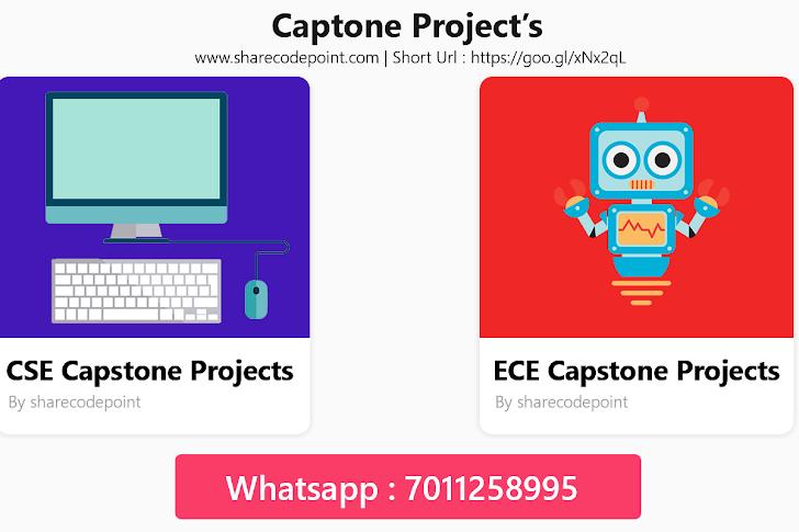 Buy Capstone Projects Online - CSE & ECE Students Capstone Projects -  Major Project - Miner Project