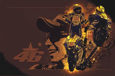 Gambar Wallaper Keren MotoGP Valentino Rossi Full HD - Gambar Foto