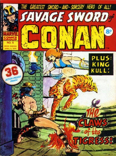 Marvel UK, Savage Sword of Conan #5, Zukala Daughter