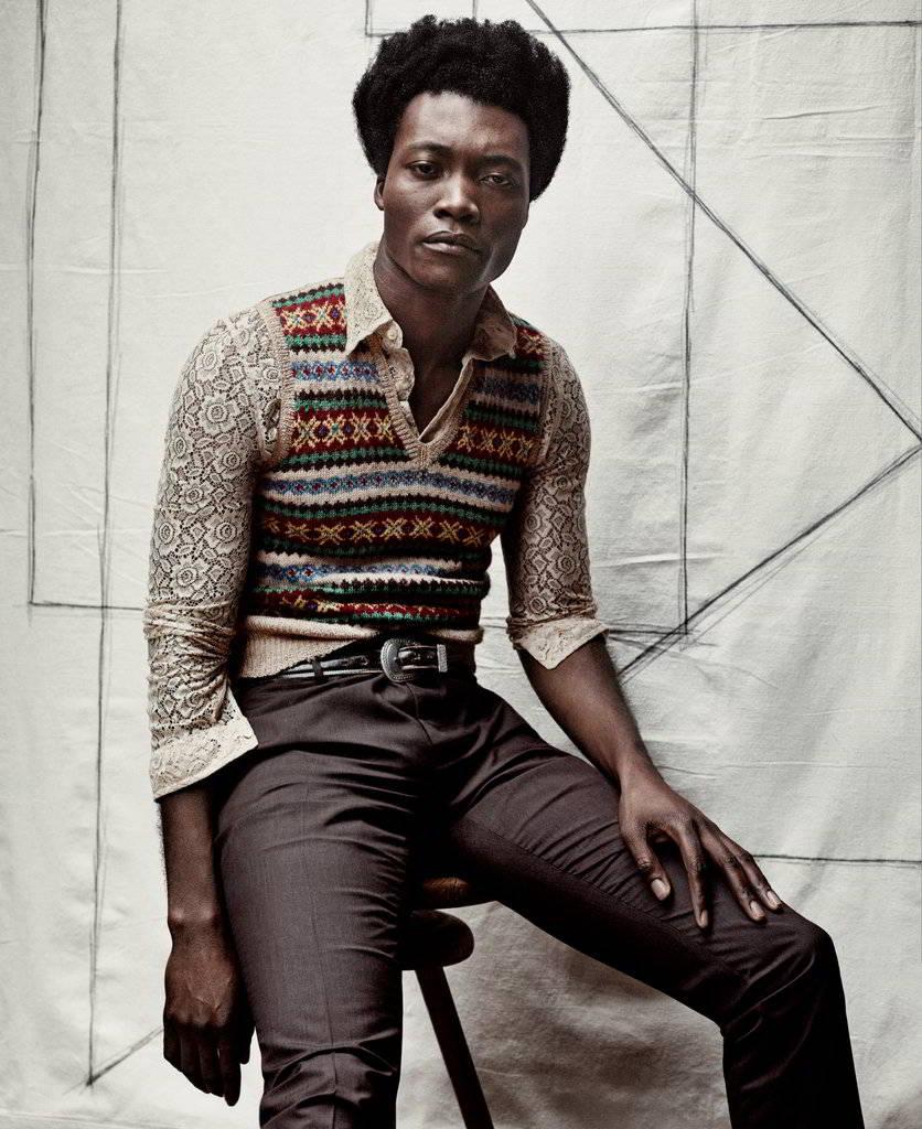 Benjamin Clementine para T Magazine Men's Fashion Spring ...