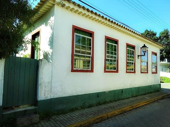 Casario colonial, em Santo Antônio de Lisboa