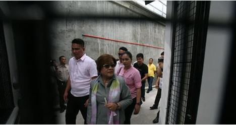 De Lima Receives Over 2k Hate Messages After Her Mobile Number Bared In House Probe.