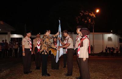 Gubernur Ridho Lepas Peserta Raimuna XI