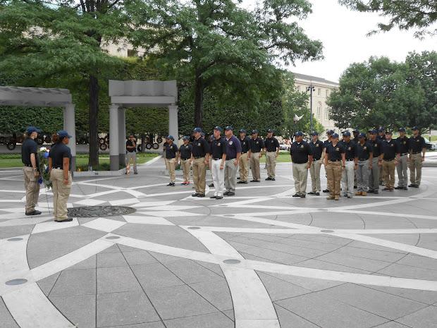 National Law Enforcement Officers Memorial Fund Explorers Visit