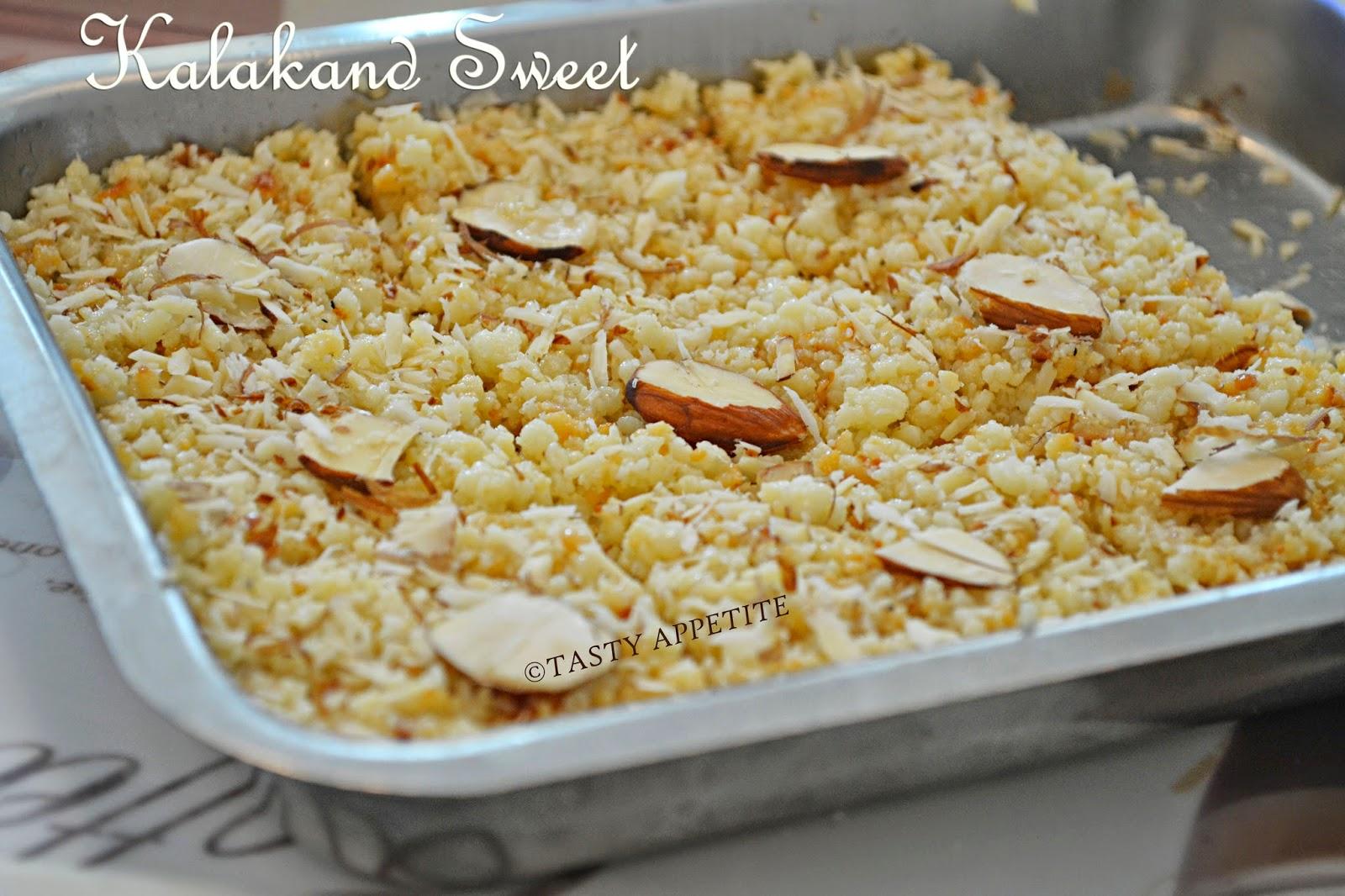 how to prepare kalakand sweet