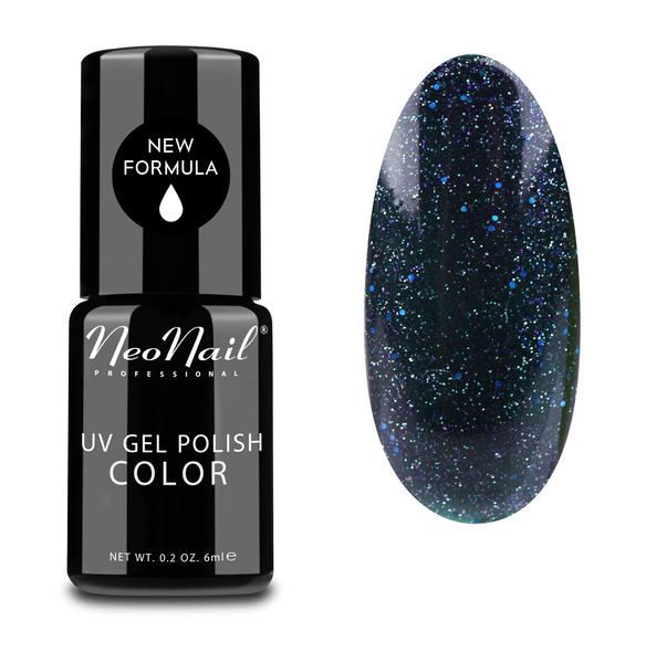 NeoNail Professional Lakier Hybrydowy UV 6 ml - Andromeda tani lakier hybrydowy semilac brokat paznokcie hola paola blog o stylizacji paznokci gel nails hybrid nail art